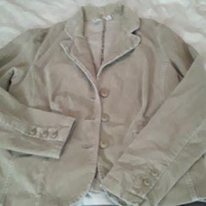 St John's  Bay Beige corduroy jacket